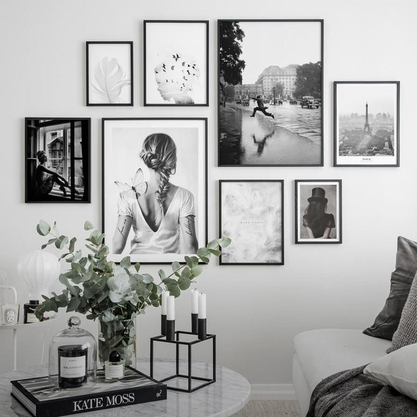 Poster Store Beautiful Wall Art Buy Posters Frames Poster Store Beautifu Art B In 2020 Gallery Wall Design Photo Wall Gallery Frames On Wall