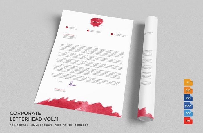 letterhead examples Graphics Pinterest Examples, Letterhead - letterhead examples