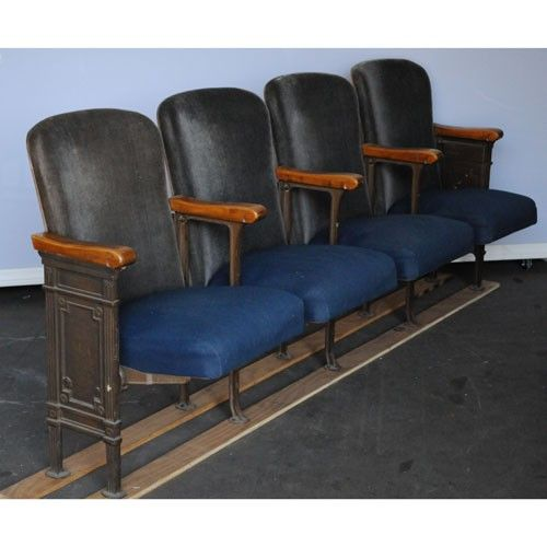 theater seats For the Home Pinterest Theater seats Salvaged