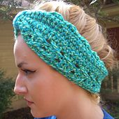 Ravelry: Turbanesque Headband pattern by Pam Grennes