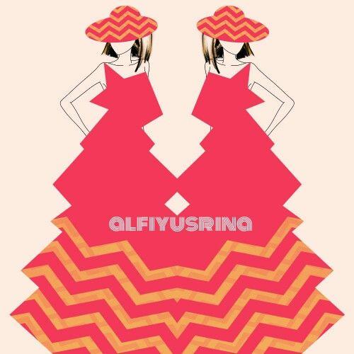 chevron feels #fashiondrawing