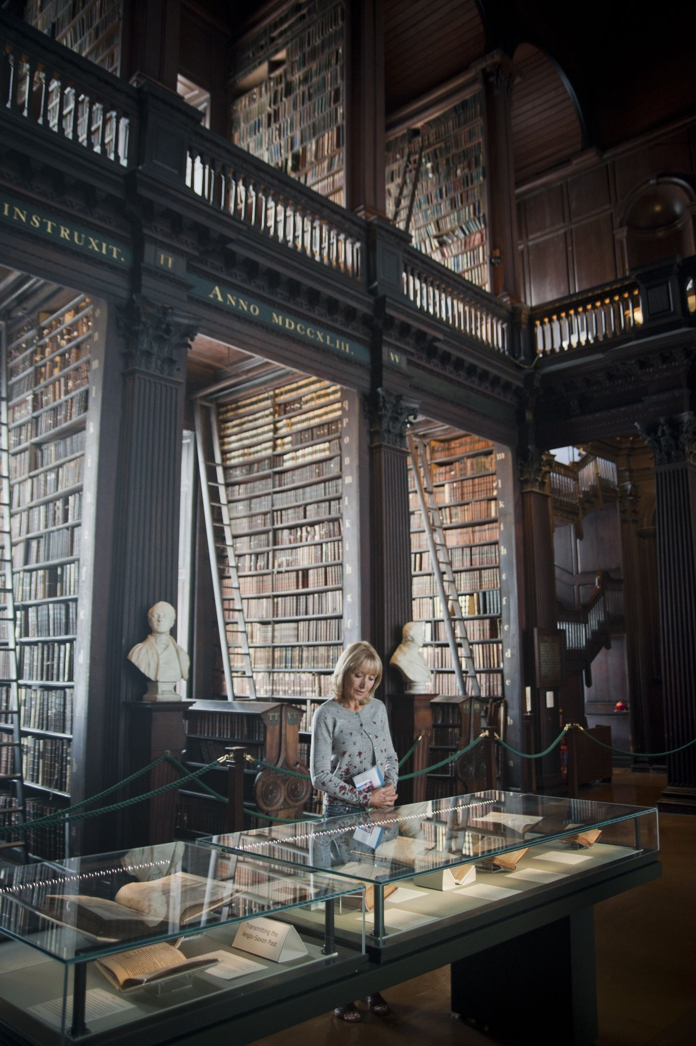 Get inspired at Trinity College in Ireland's literary capital! The words and voices of Ireland's great literary characters echo throughout the city today.