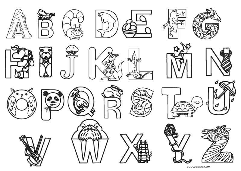 - Free Printable Abc Coloring Pages For Kids Cool2bKids Abc Coloring  Pages, Abc Coloring, Abc Printables