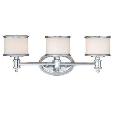 Bathroom Vanity Lights Reviews : Forte Lighting 3 Light Vanity Light & Reviews Wayfair master bathroom Pinterest Vanities ...
