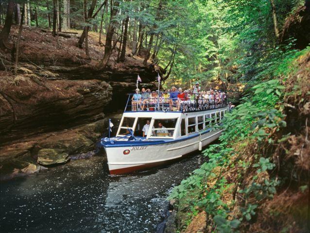 Upper Dells Boat Tour Wisconsin Dells Vacation Wisconsin Vacation Wisconsin Dells