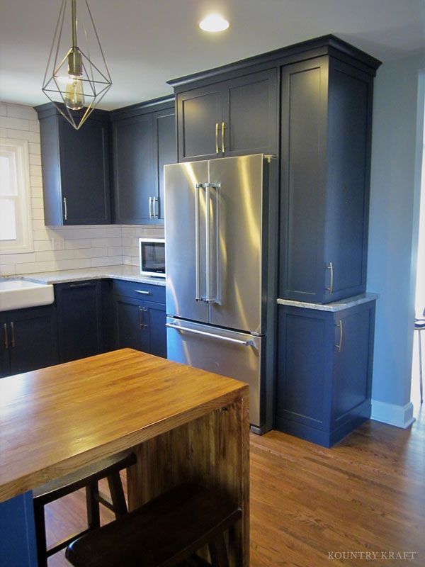 Navy Cabinets In Charlotte, NC.  Https://www.kountrykraft.com/photo Gallery/traditional Navy Kitchen  Charlotte North Carolina/ #KountryKraft #Custou2026