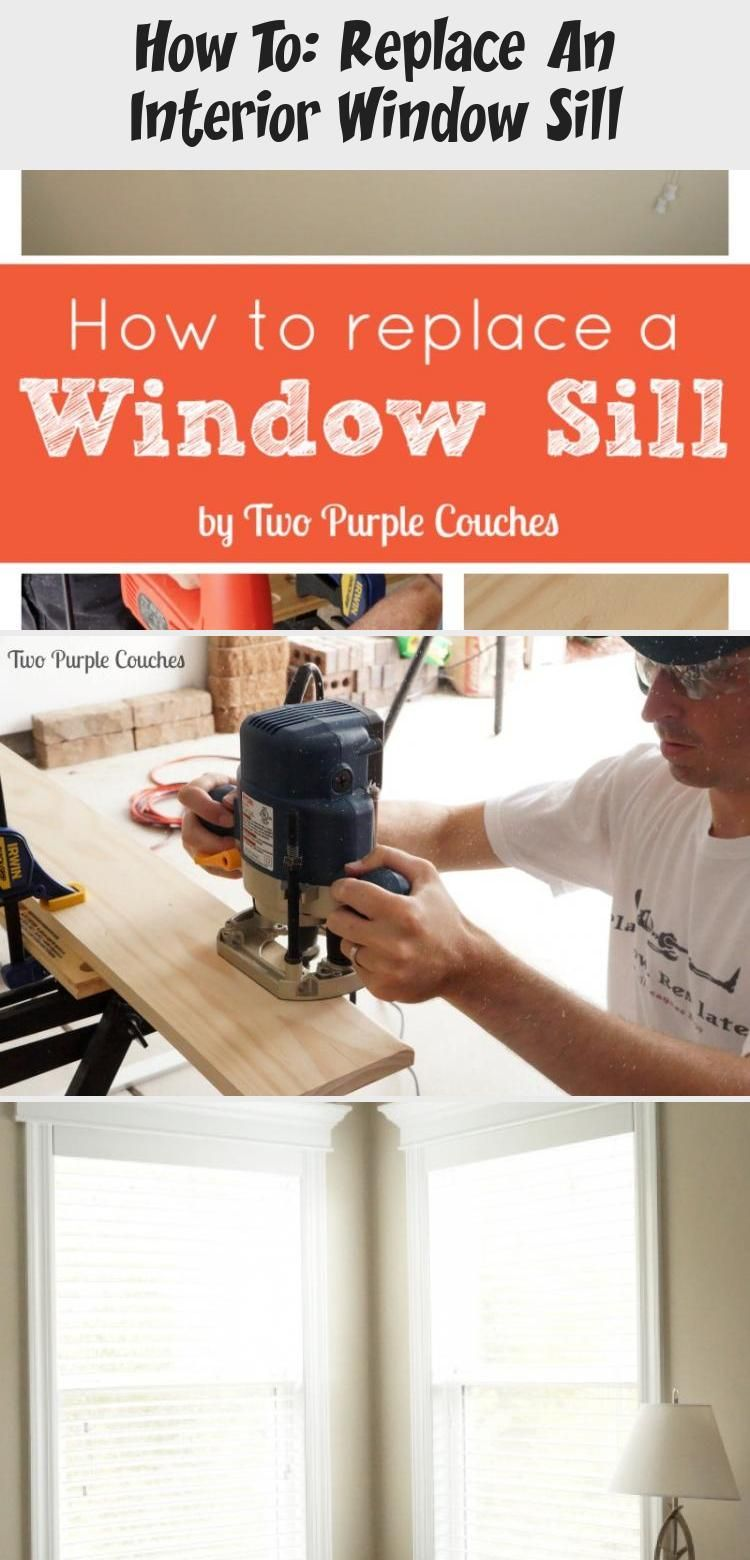 How to replace an interior window sill in 2020 interior