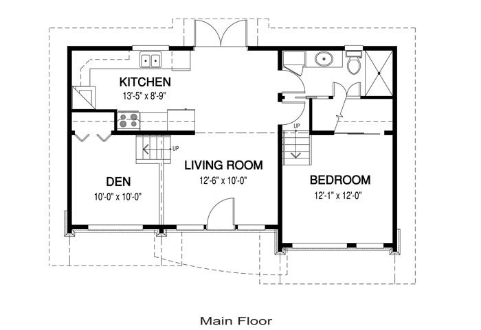 House Plans Laneway 1 Linwood Custom Homes House Plans Small House Floor Plans House Blueprints