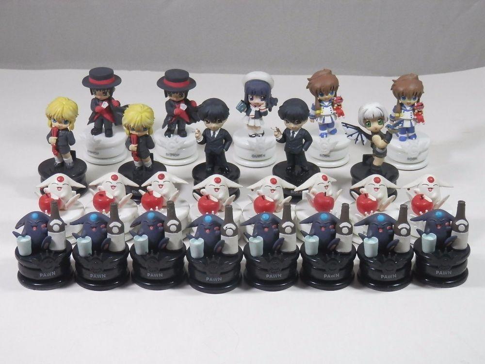 Clamp no kiseki chess pieces 26 piece lot japanese anime