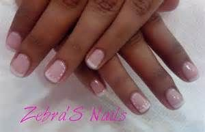 zebra french manicure | Nail Art Ideas