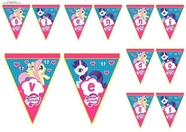 banderines para imprimir my little pony - Buscar con Google