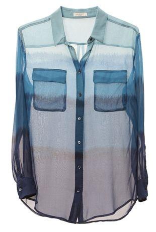 Equipment Blue Ombre - Oxygen Boutique