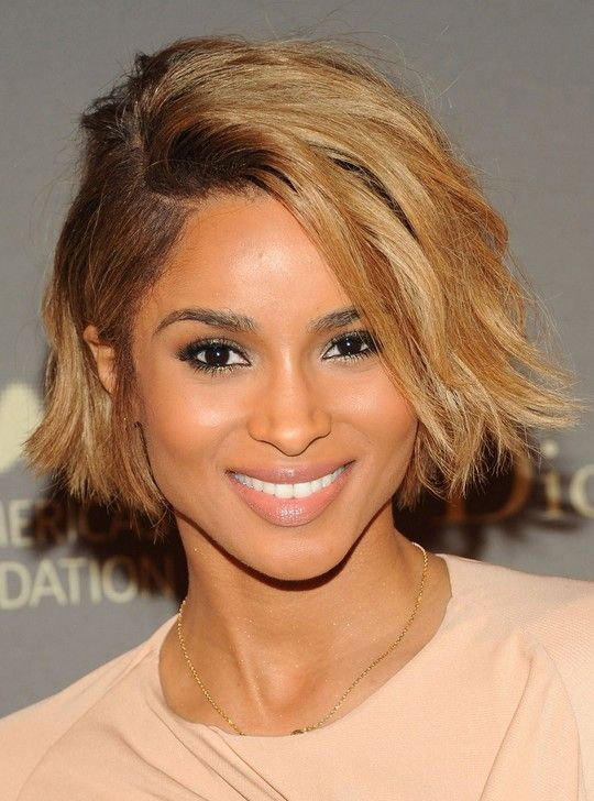 Ciara Hairstyles Ciara Hair Styles 3 Different Haircut  Layered Bobs Side Parting