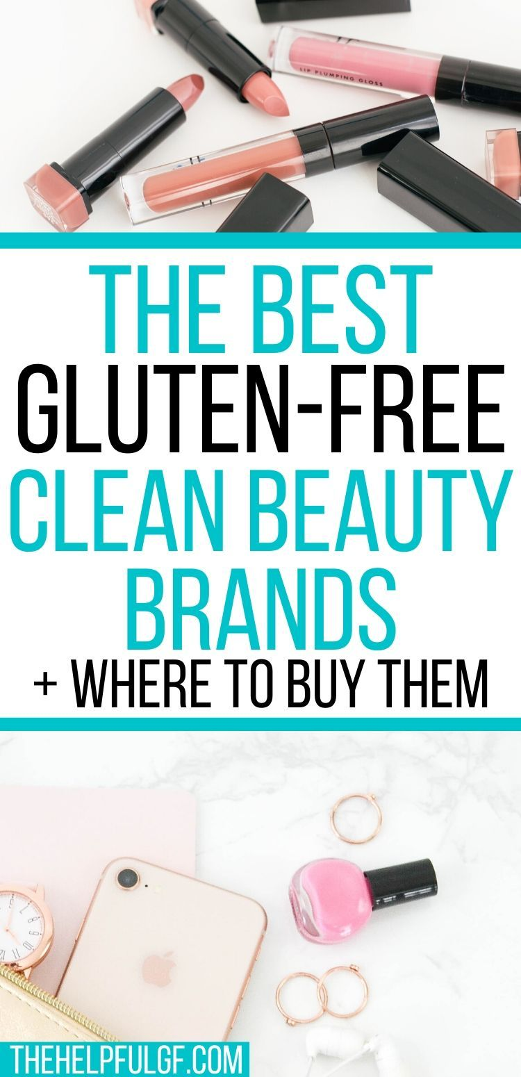 Top GlutenFree Makeup and Clean Beauty Brands The