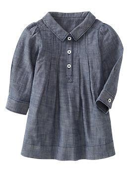 Chambray shirt dress | Gap