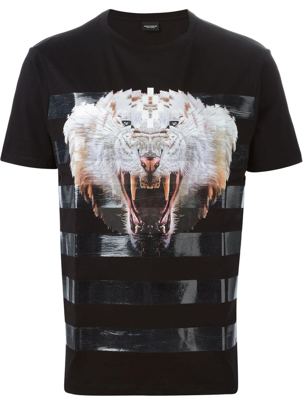 473516726fbc Marcelo Burlon County Of Milan Animal Print T-shirt - Mantovani -  Farfetch.com