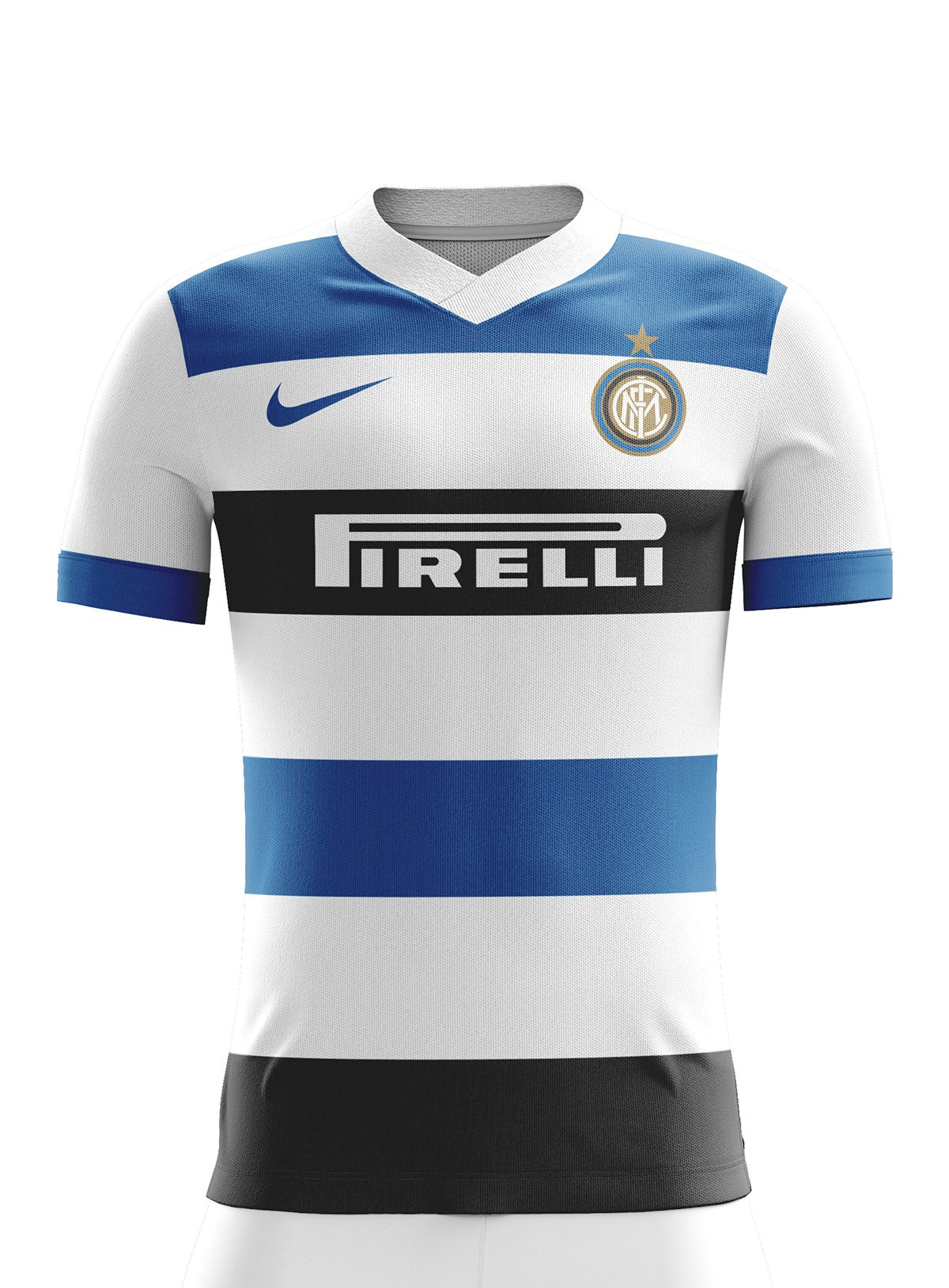 5d5a13716 Inter Milan Football Kit 17 18. on Behance