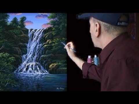 Wonderful Peindre Une Chute Du0027Eau Cour Complet Leçon De Peinture A Lu0027acrylique