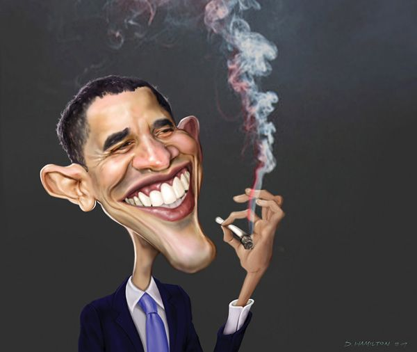 Female Cartoons Smoking Weed | New book on Obama reveals ...