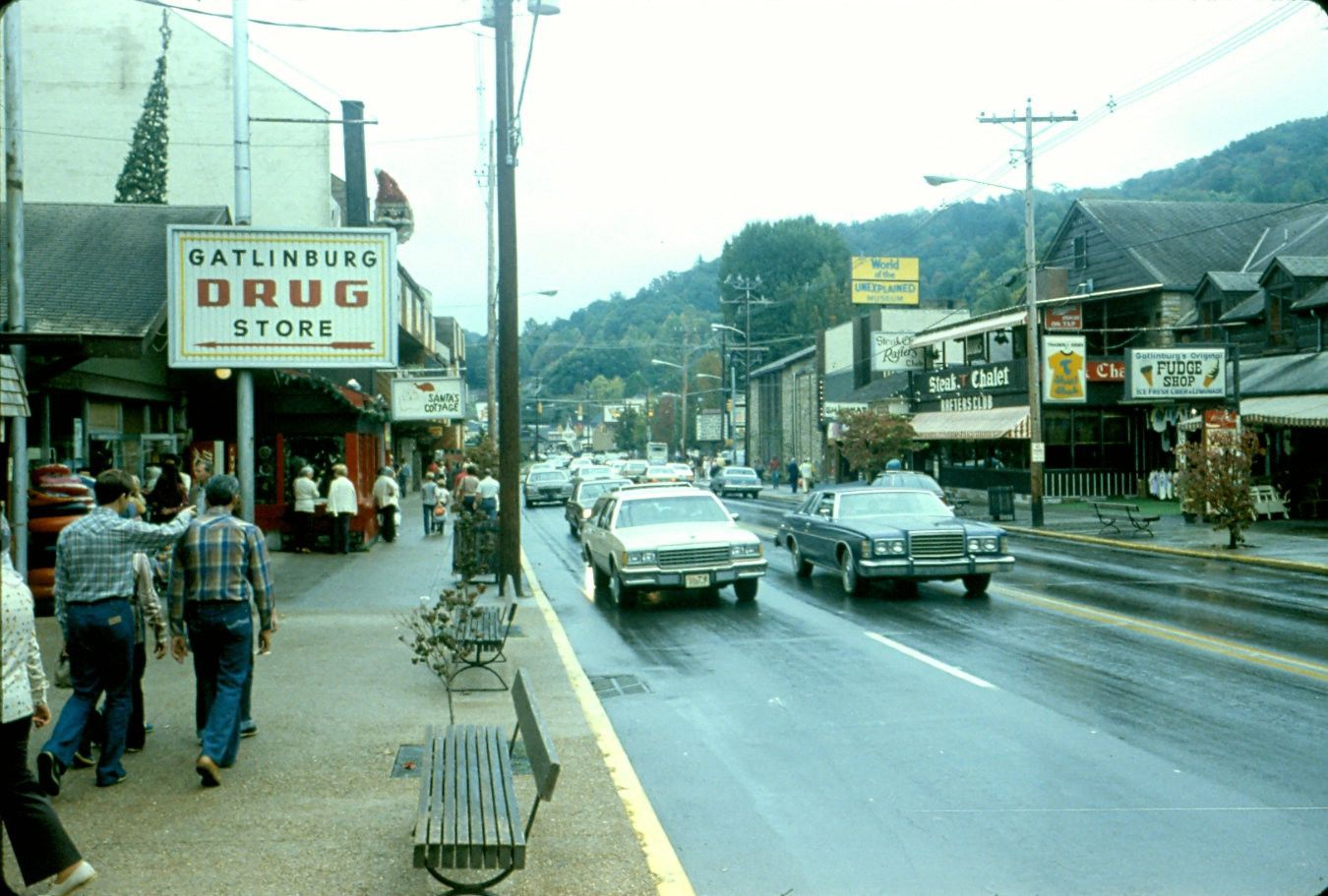 Gatlinburg, Tennessee, 1970s. Going with Mama Sims and Granddaddy ...
