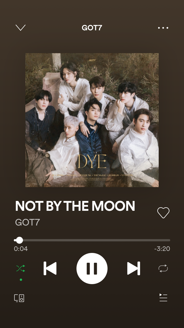 Not By The Moon Got7 In 2020 Youtube Videos Music Songs Youtube Videos Music K Pop Music
