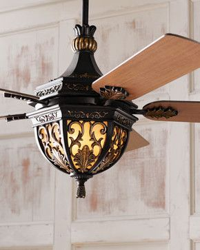 Elegant Bedroom Ceiling Fans Lambrusco Fan Traditional By Horchow