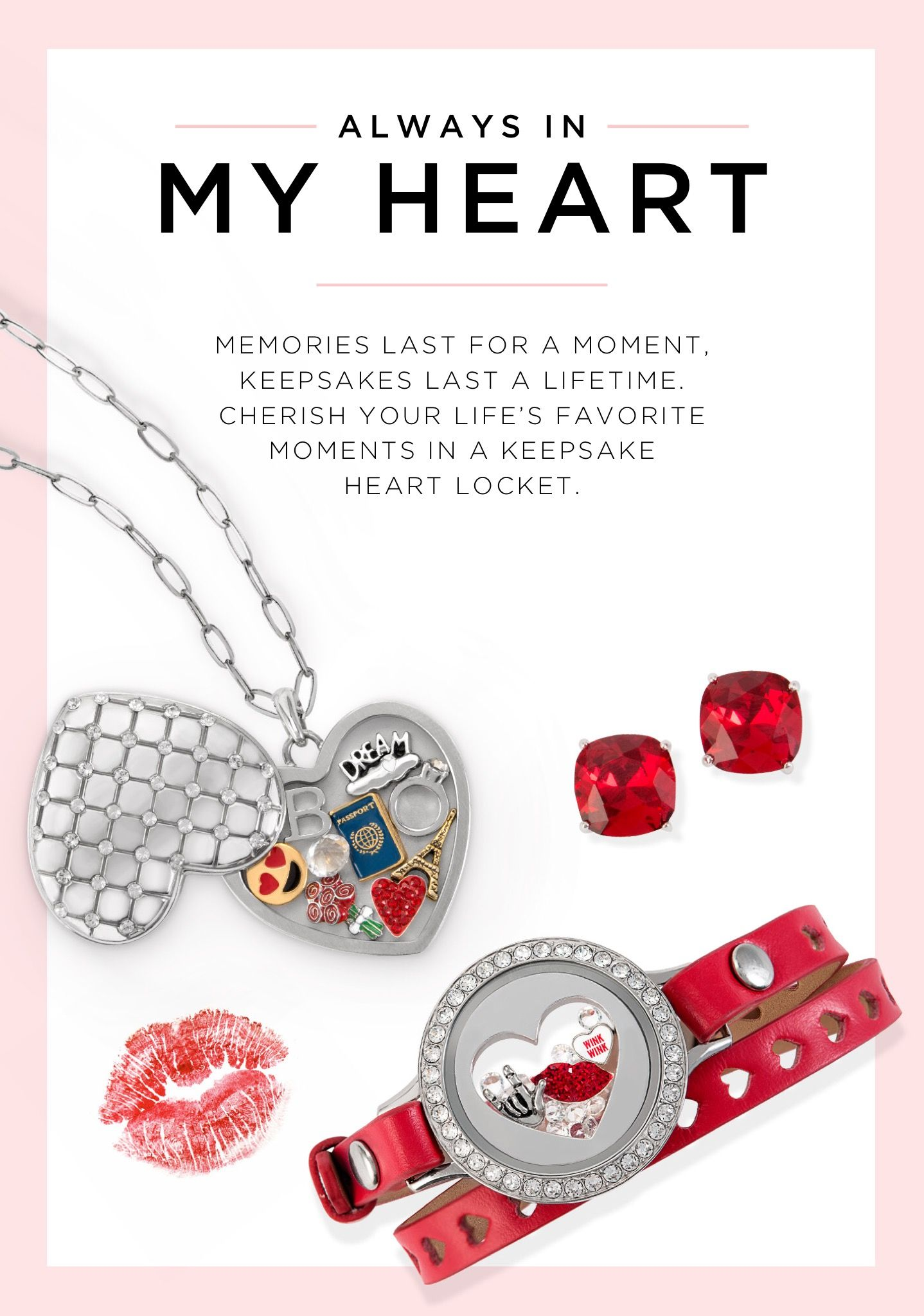 Origami owl 2018 valentines day collection arrives 1418 origami owl 2018 valentines day collection arrives 1418 charminglocketsbyaline jeuxipadfo Gallery