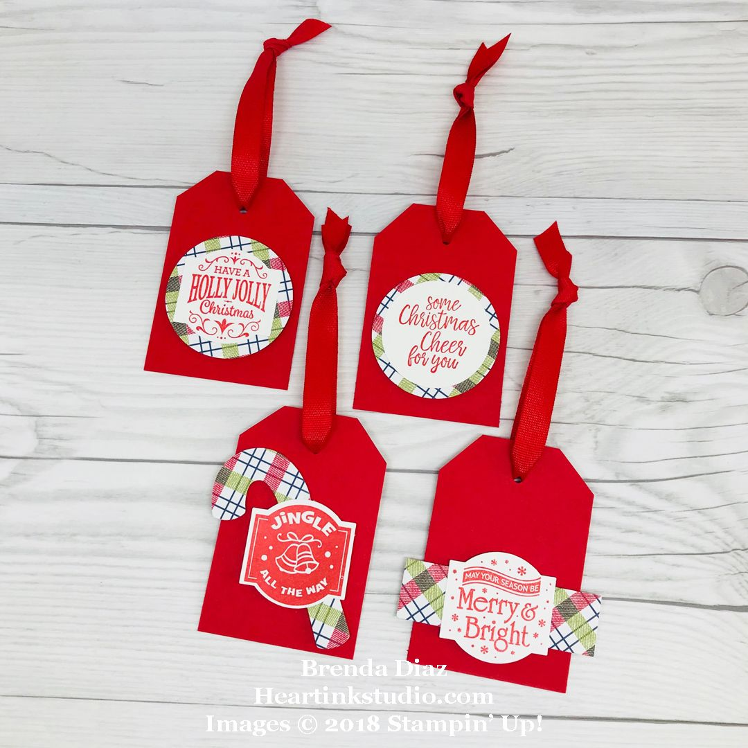 Quick & Easy Holiday Tags Featuring The CHRISTMAS
