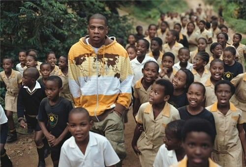 Jay-Z in Africa helps with irrigation for villages