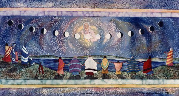 Os ciclos da lua e ancestralidade feminina