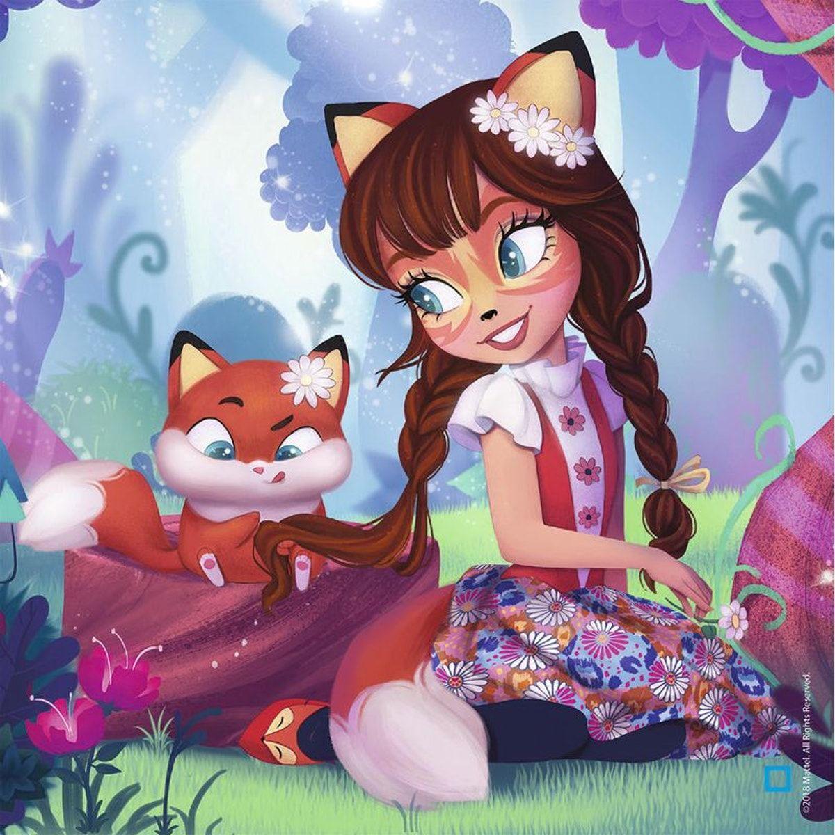 Puzzle 3x49 P Le Monde Merveilleux Des Enchantimals Rav4005556080618 Taille Taille Unique Dessins Disney Monde Merveilleux Merveilleux