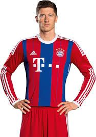Resultado de imagen para bayern munich lewandowski jersey