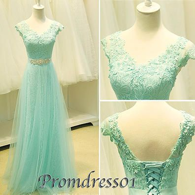 promdress01 prom dresses - 2015 elegant V-neck low back short ...