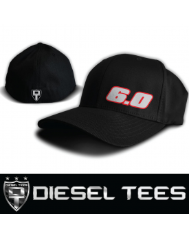 6.0 Powerstroke Diesel FlexFit Hat available at www.DieselTees.com ... 4ffa7f7eb689