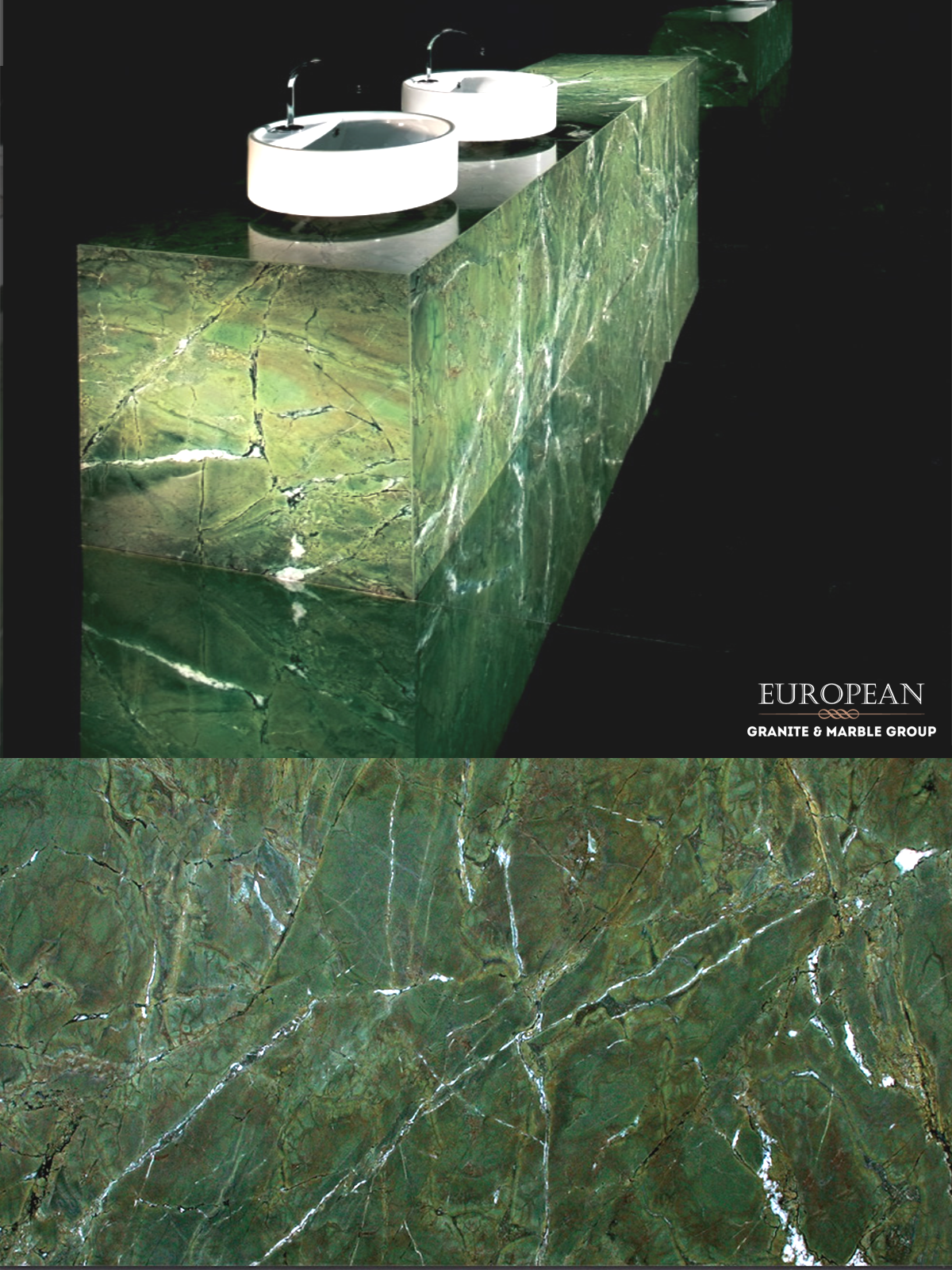 Our Verda Fantastico Granite Is A Beautiful Green Stone With