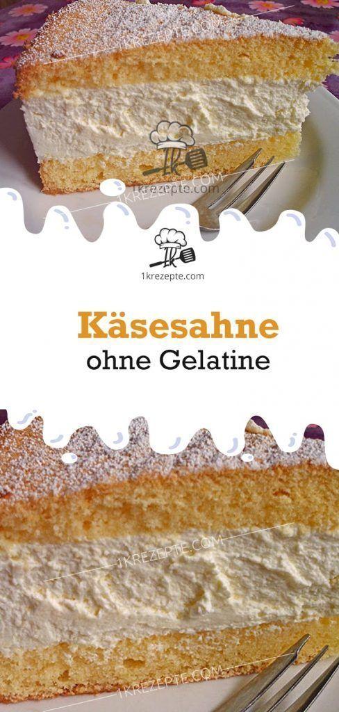 Käsesahne ohne Gelatine - Einfache Rezepte -  Käsesahne ohne Gelatine – Einfache Rezepte  - #brautkleider #CranberryEnergiebällchen #einfache #ge...#brautkleider #cranberryenergiebällchen #einfache #gelatine #kasesahne #ohne #rezepte