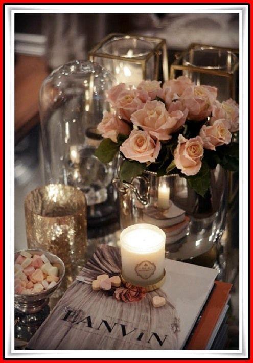 20 Ideen Für Einen Romantischen Tisch #zuhause Dekorieren #zuhause  Dekorieren 2018 #zuhause Dekorieren Trend