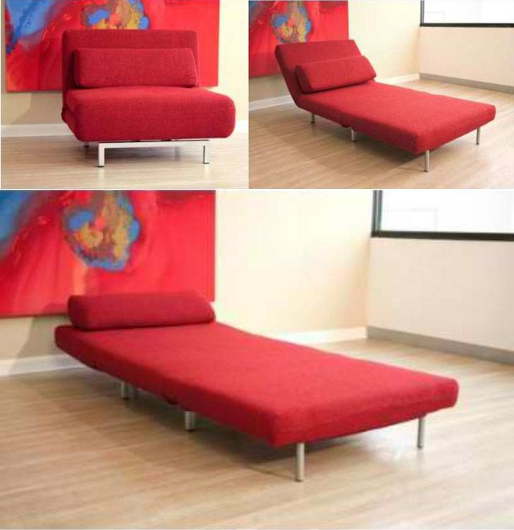 convertible sofa chair bed home furniture pinterest modern chic decor extra bed and diy sofa. Black Bedroom Furniture Sets. Home Design Ideas