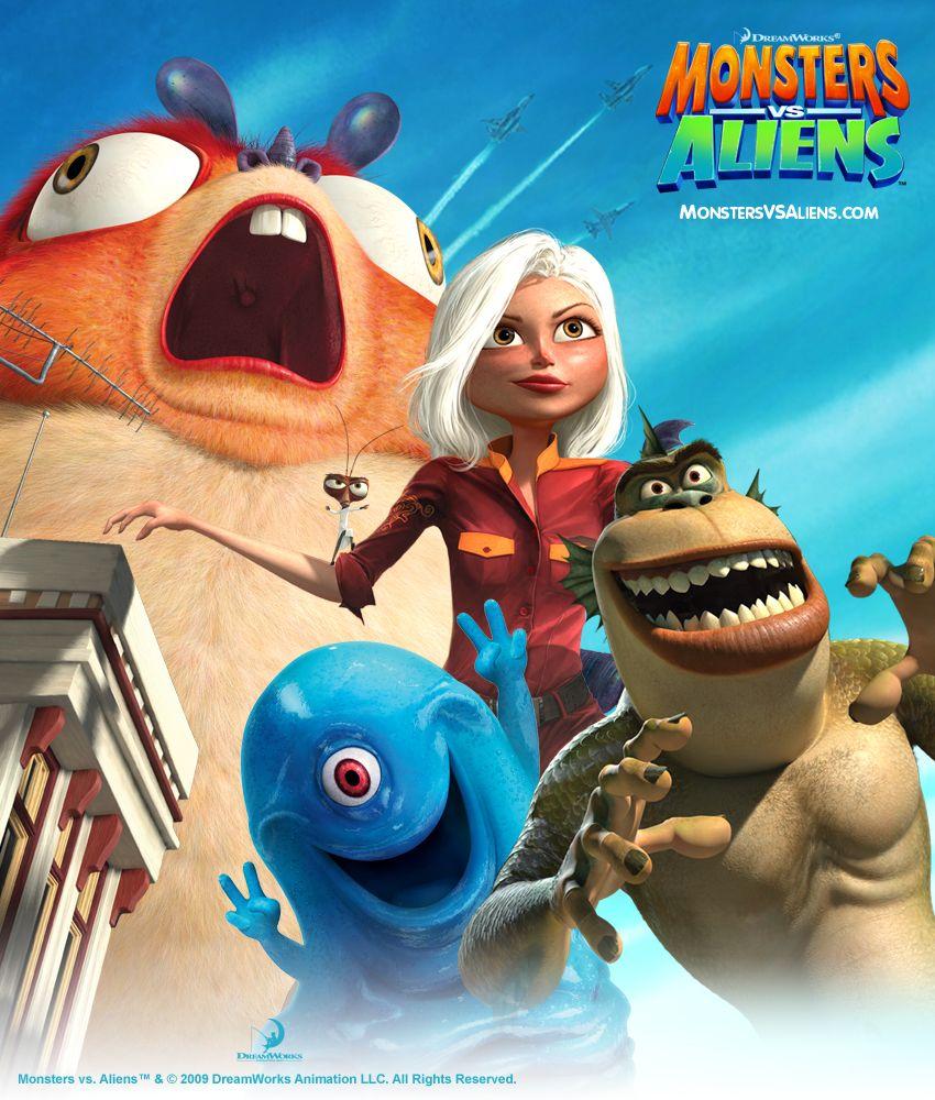 Monster Vs Aliens Stream