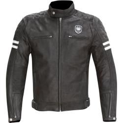 Photo of Merlin Hixon Heritage motorcycle leather jacket black 3xl Merlin