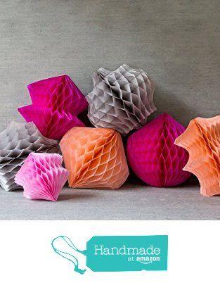 Hanging honeycomb shapes (set of 3) from Bird+Bower https://www.amazon.com/dp/B01BKXJZ0Q/ref=hnd_sw_r_pi_awdo_y-ECxbR527W2H #handmadeatamazon