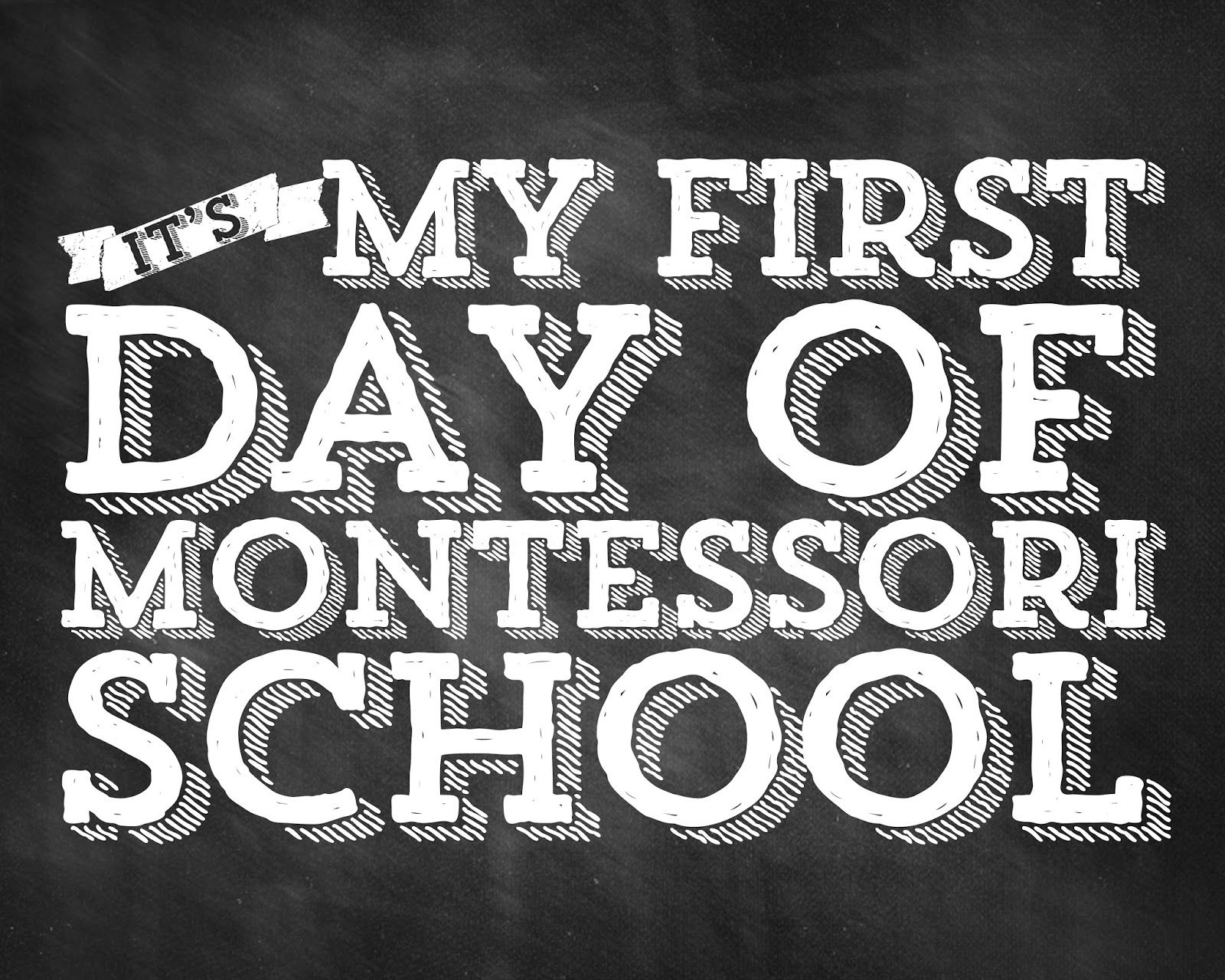 [the good life blog]: First Day of School - Free Printables for Your Minis!