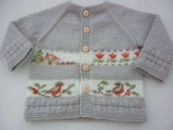 dfce4df946c1 Pattern baby cardigan.Cardigan with embroidery .knitted baby clothes ...