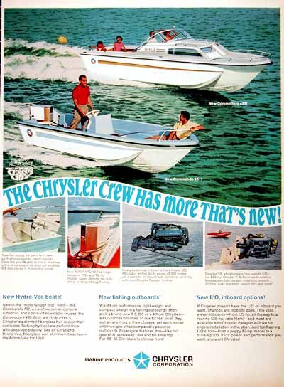 1966 Chrysler Boats Ad Why They Tried Or Were Ever Competive In