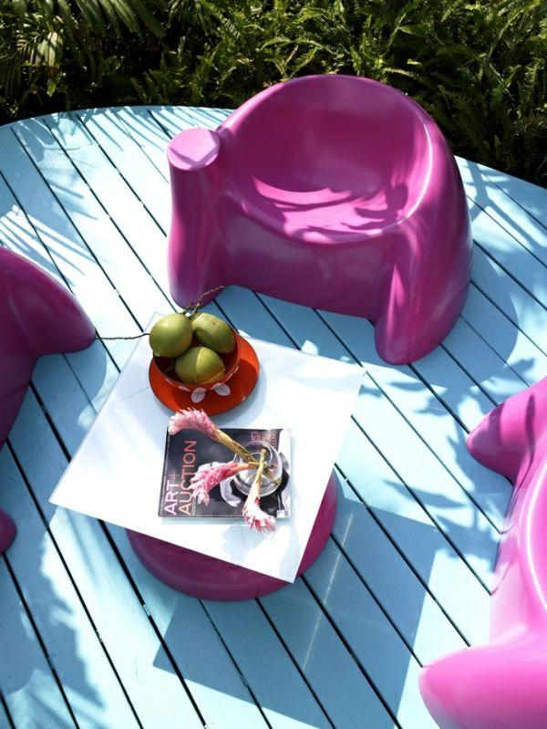 56 tolle Pastellfarben \u2013 Patio Design Ideen Garten Mobel 2018 - lounge gartenmobel gunstig