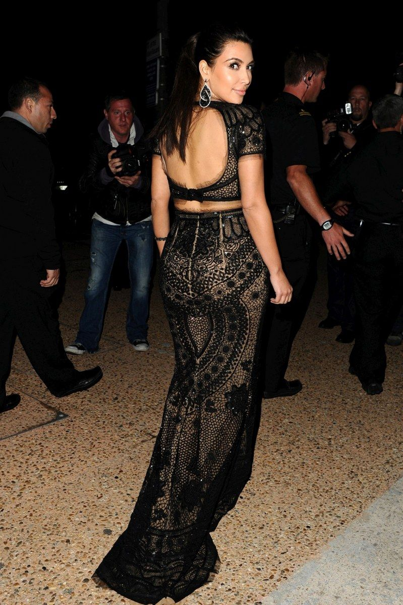 Kim Kardashian Night Club Outfits