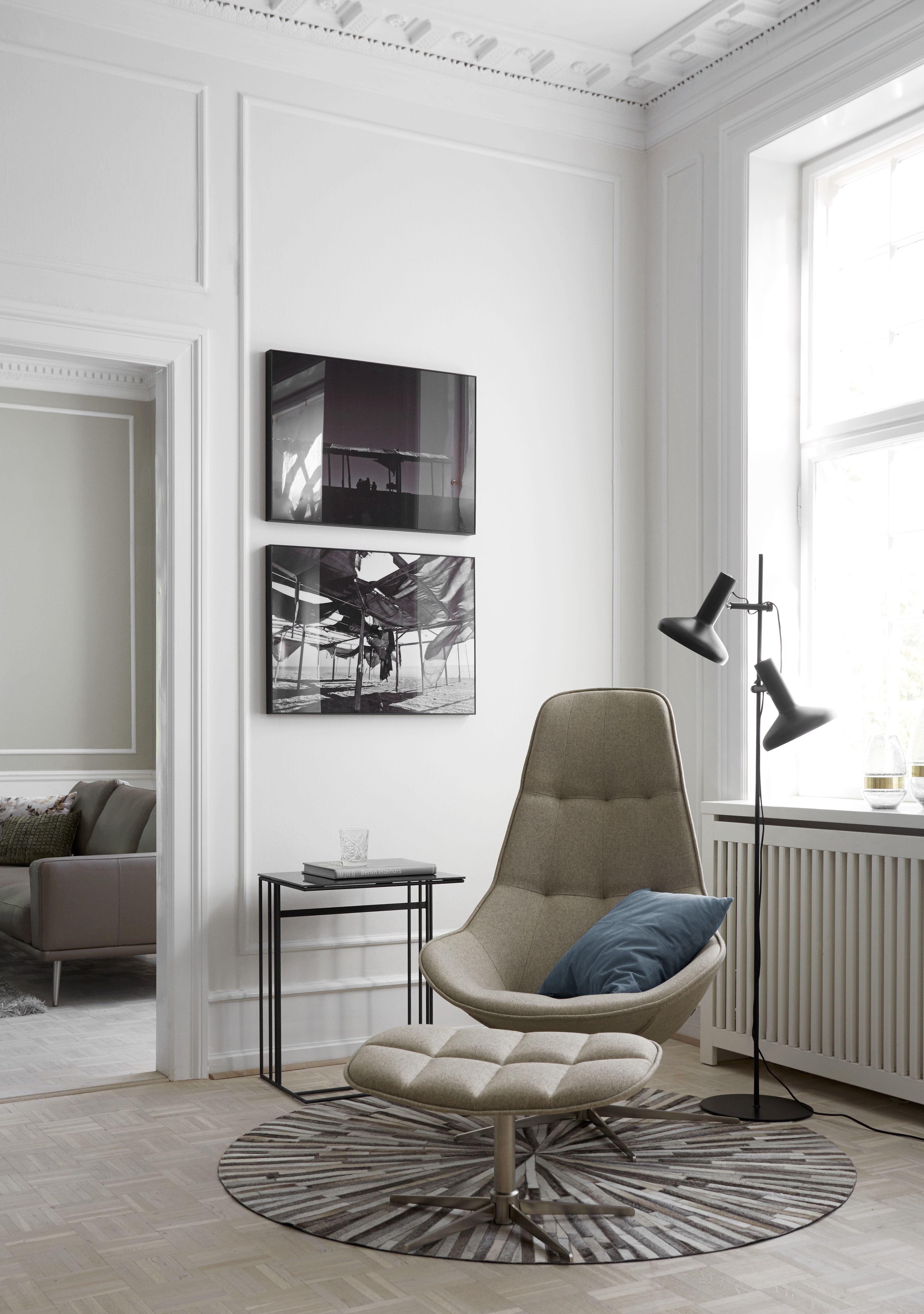 Boston Sessel Mit Duo Stehlampe Boconcept Interiordesign