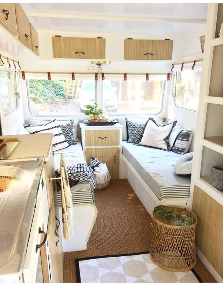 beautifully renovated camper rv travel road trip redo
