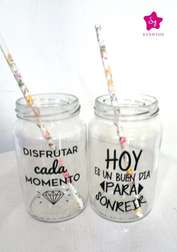 0eeece6a2 vaso personalizado, frases, tragos, frascos drinks … | Cosas ...