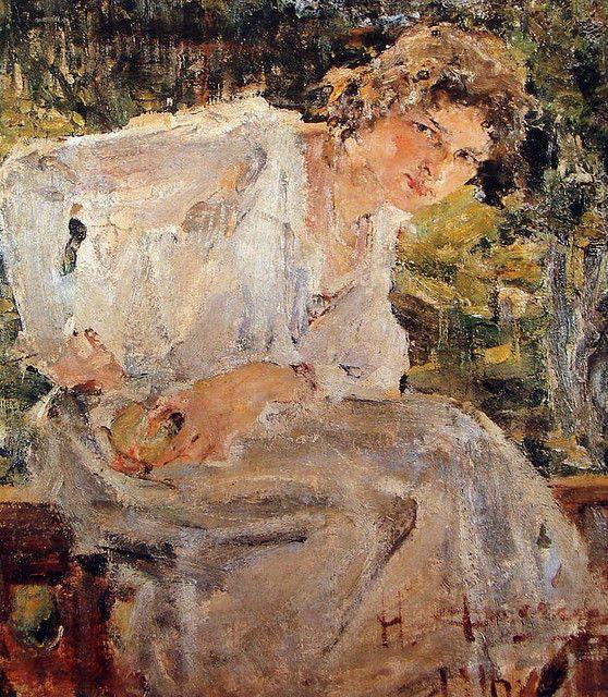 Nicolai Fechin (Russian/American, 1881-1955)